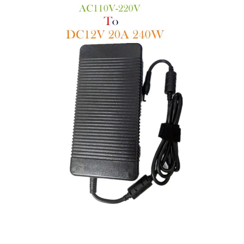 DC12V 20A 240W Switching Power Supply DC12V Lighting Transformer LED Driver for LED Strip LED Bar Light AC110/200V To DC12V