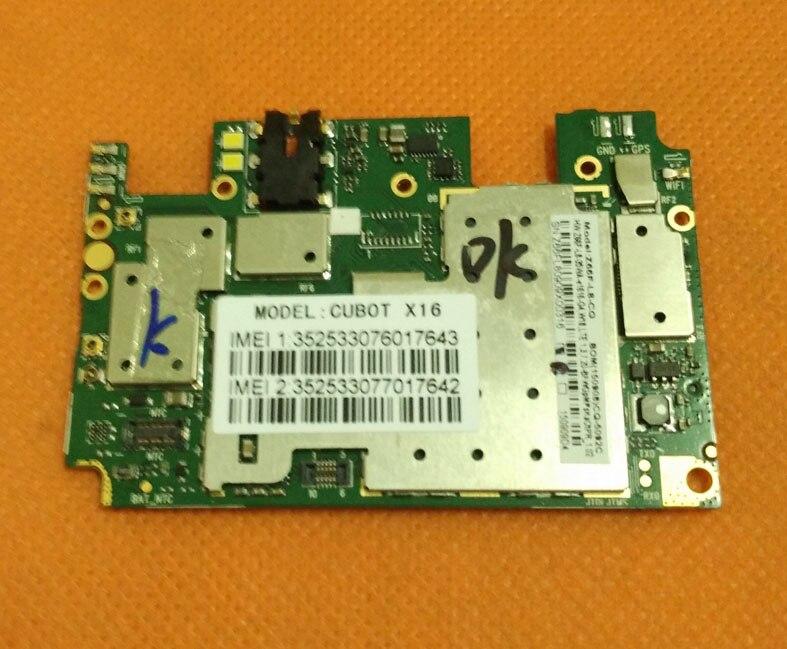 Carte mère d'origine 2G RAM + 16G ROM Carte Mère pour Cubot X16 4G LTE MTK6735 Quad Core 5.0 FHD 1080*1920 Livraison gratuite