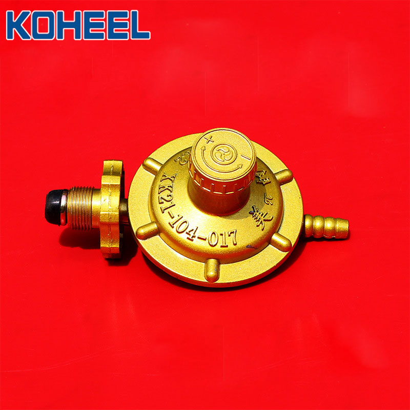 """3.5kPa Natural Gas Cooktop Pressure Regulator 5//8/"""" FPT Gas Pipe In//out1//2/"""" PSI"""