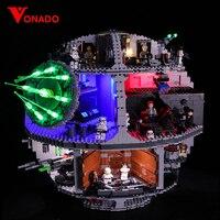 Набор светодиодных ламп для Lego 75159 Star Series Wars Death Star совместим с 05063 строительными блоками кирпичи игрушки (только свет + батарейный блок)
