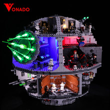Led Light Set For Lego 75159 Star Series Wars Death Star Compatible 05063 Building Blocks Bricks Toys (only light+Battery box)(China)