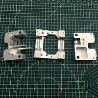 8MM Shaft Aluminum X axis metal Extruder Carriage +Y axis carriage kit For  Replicator 2X 3D printer Upgrade