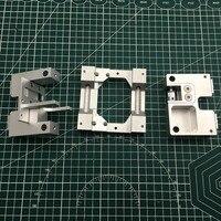 8MM eje de aluminio X eje metal carro extrusor + Y kit de carro del eje para replicador 2X 3D Actualización de impresora reprap delta delta kossel kossel k800 -