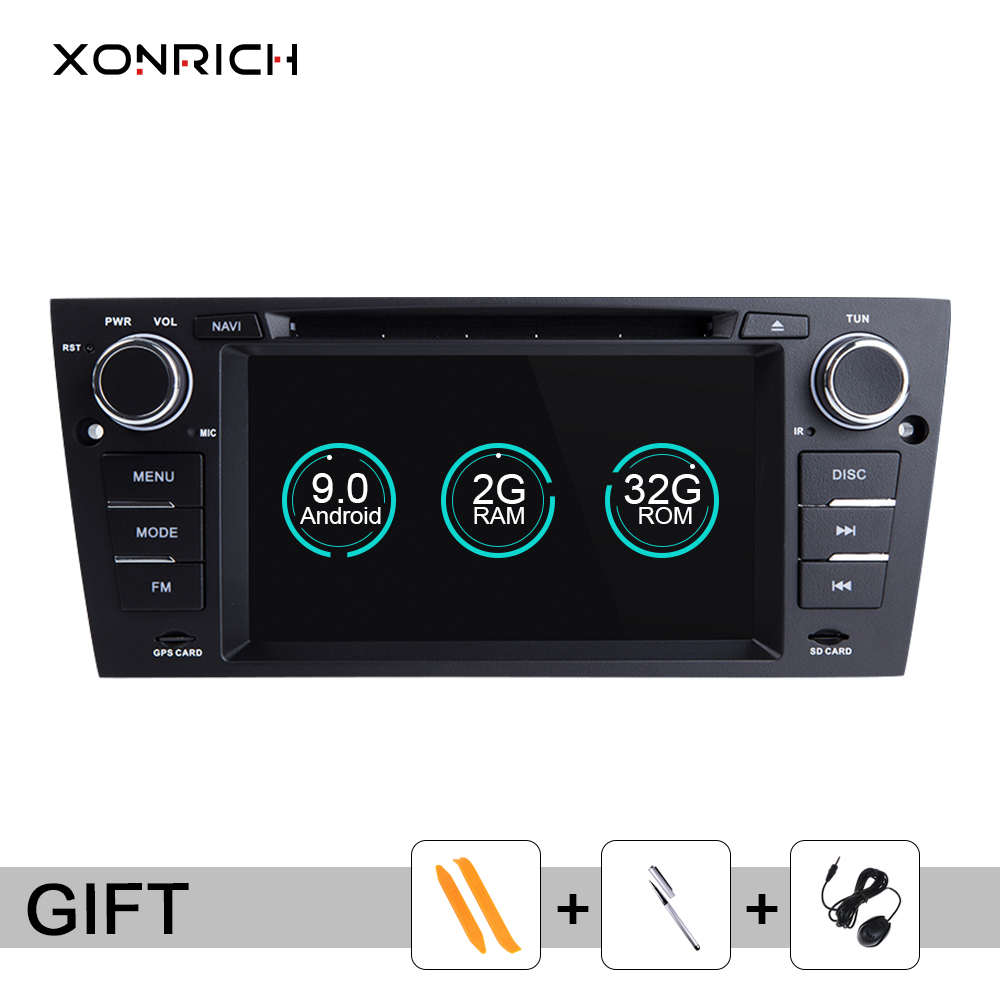 Xonrich <font><b>AutoRadio</b></font> <font><b>1Din</b></font> <font><b>Android</b></font> 9 Car GPS Navigation For BMW E90/E91/E92/E93 3 SeriesMultimedia stereo Audio Head unit <font><b>dvd</b></font> Player image