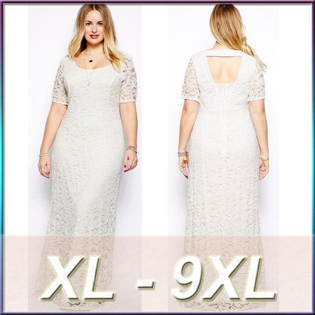 7XL 6XL Plus Size Women Long Lace Dress Large Size Dress Vestidos Sexy Big Size Black_640x640 aliexpress com buy 7xl 6xl plus size women long lace dress large,7xl Womens Clothing