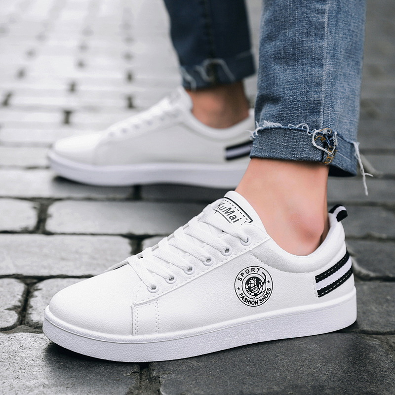 US $15.6 20% OFF|2019 Spring White Shoes Men Casual Shoes Male Sneakers Cool Street Men Shoes Brand Man Footwear in Men's Casual Shoes from Shoes on