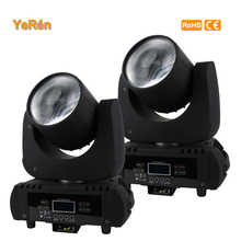 Сценический Светодиодный прожектор с движущейся головкой, DMX DJ освещение, 20000 люмен, 5 метров (2 шт./лот)