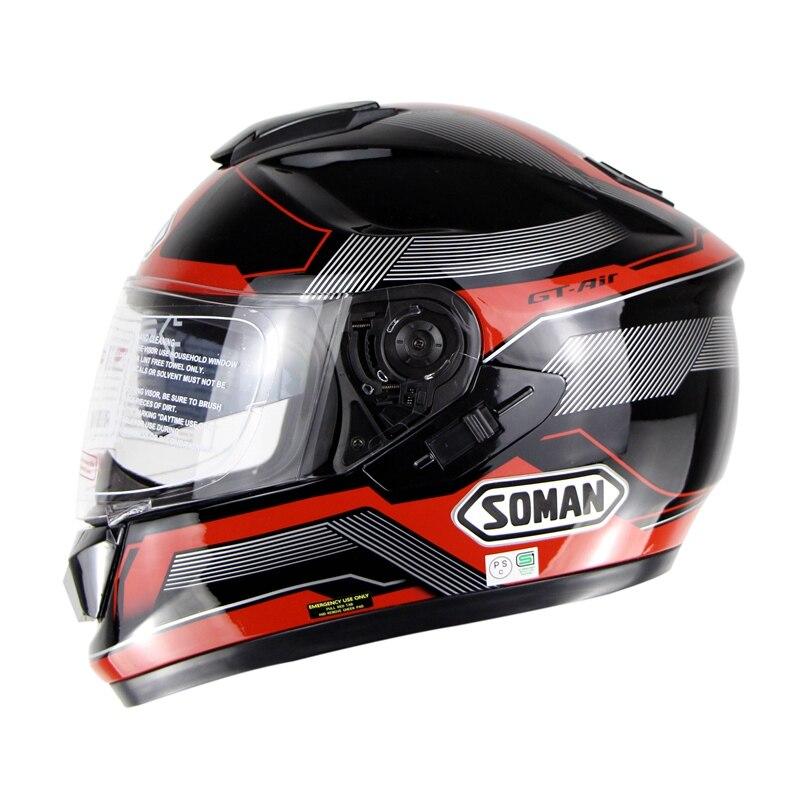 5 Colors Helmets Double Lens Motorcycle Full Face Helmet Capacete Motoqueiro Cascos Para Moto 1000m motorcycle helmet intercom bt s2 waterproof for wired wireless helmet