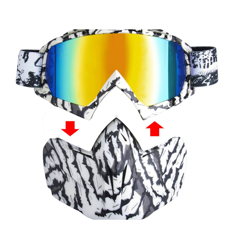 Motorcycle Cross Country Windshield Goggles Mask Bike Racing Goggles