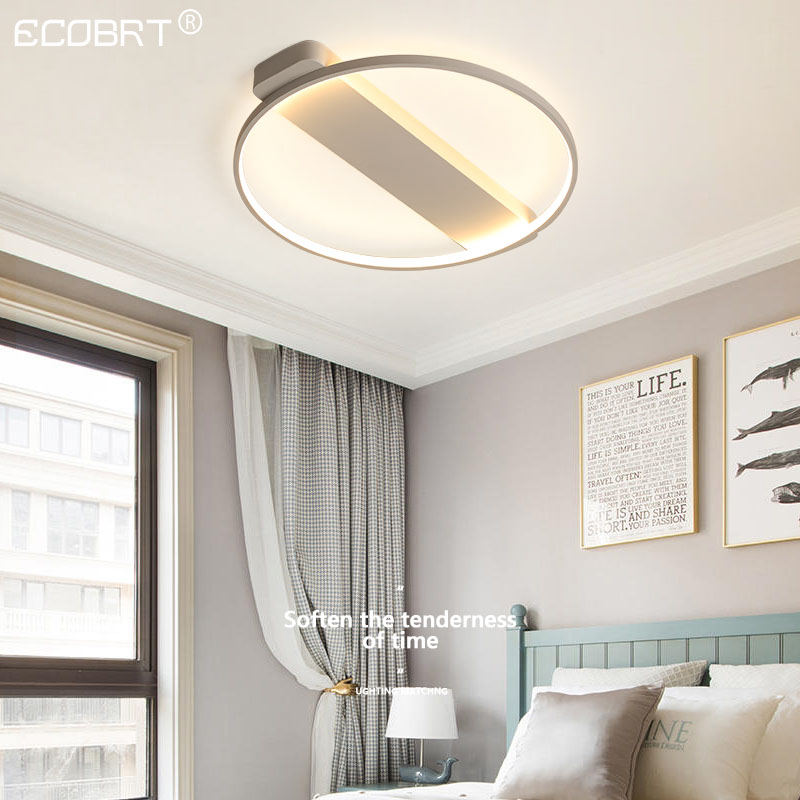 Led master bedroom lamp room living room lamp ceiling lamp simple modern warm romantic creative personality Nordic wind wall lam