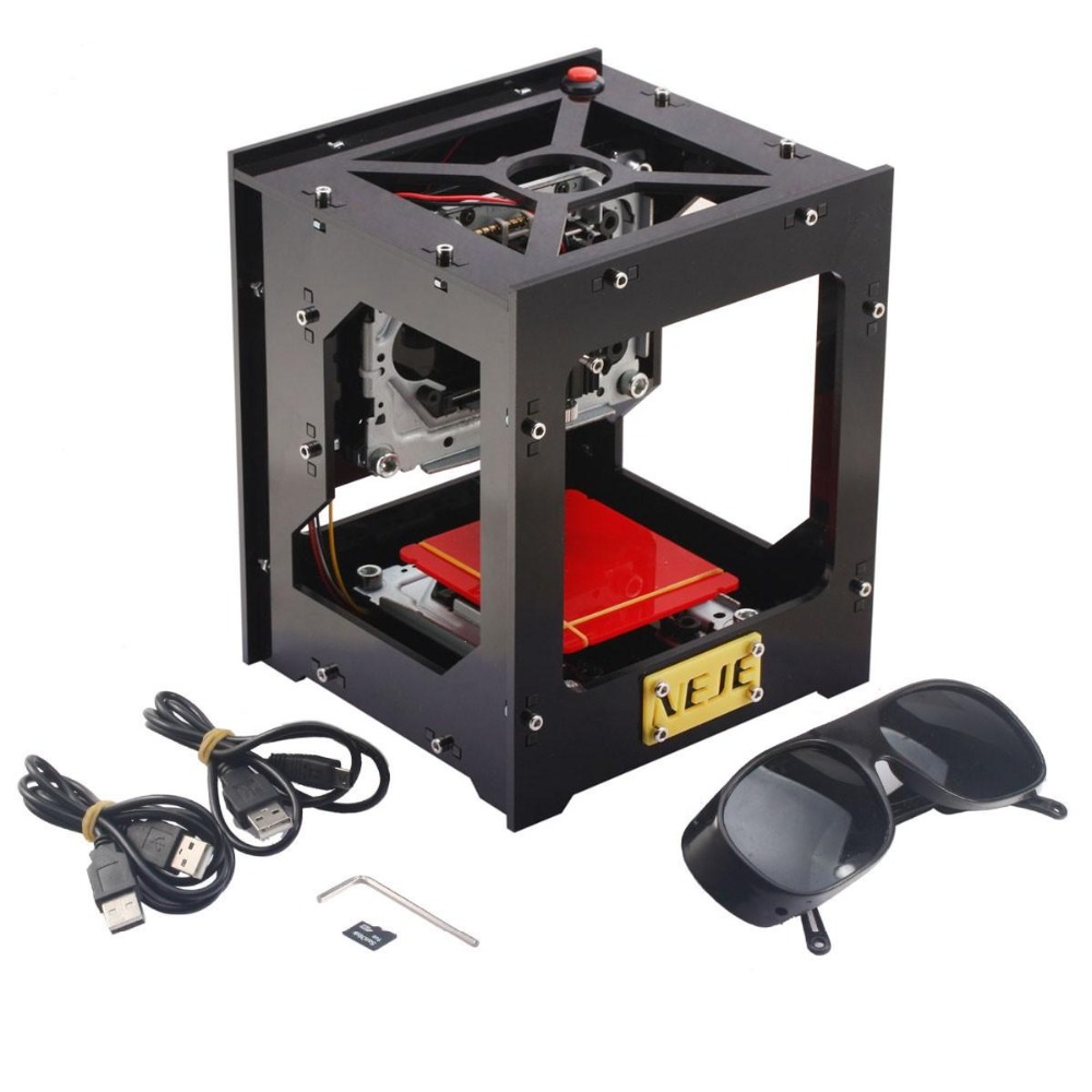 ALLSOME NEJE DIY 1000mW Laser USB Engraver Cutter Carving Machine Printer CNC Laser Engraving Machine HT1699 neje 1000mw dropshipping for vip customer