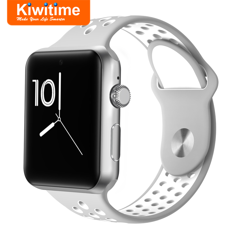 KIWITIME KT25 Bluetooth Smart Watch Connected with SIM Card Camera IWO Women SmartWatch for iOS iPhone