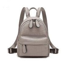 Пояса из натуральной кожи Малый размеры для женщин Рюкзак Школьная Сумка Высокое качество