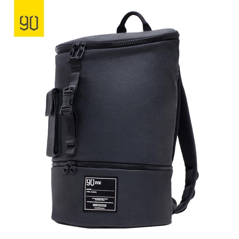 90FUN Fashion Chic Backpack Waterproof Bagpack Men Women School Bag Shopping Rucksack Casual Laptop Large Capacity Bag
