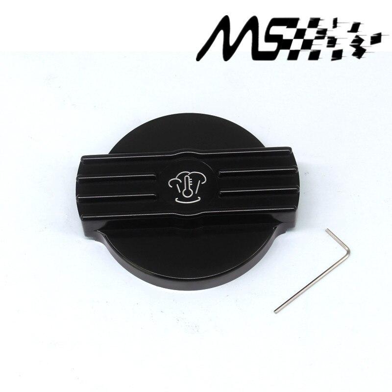 New Aluminium Water Tank Cap Black for VW golf 6 GTI rline MK6 CC Scirocco EA888 engine