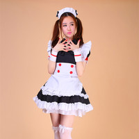 Lolita Cosplay Dress Maid Costumes Women Apron Clothes With Plus Size Suits