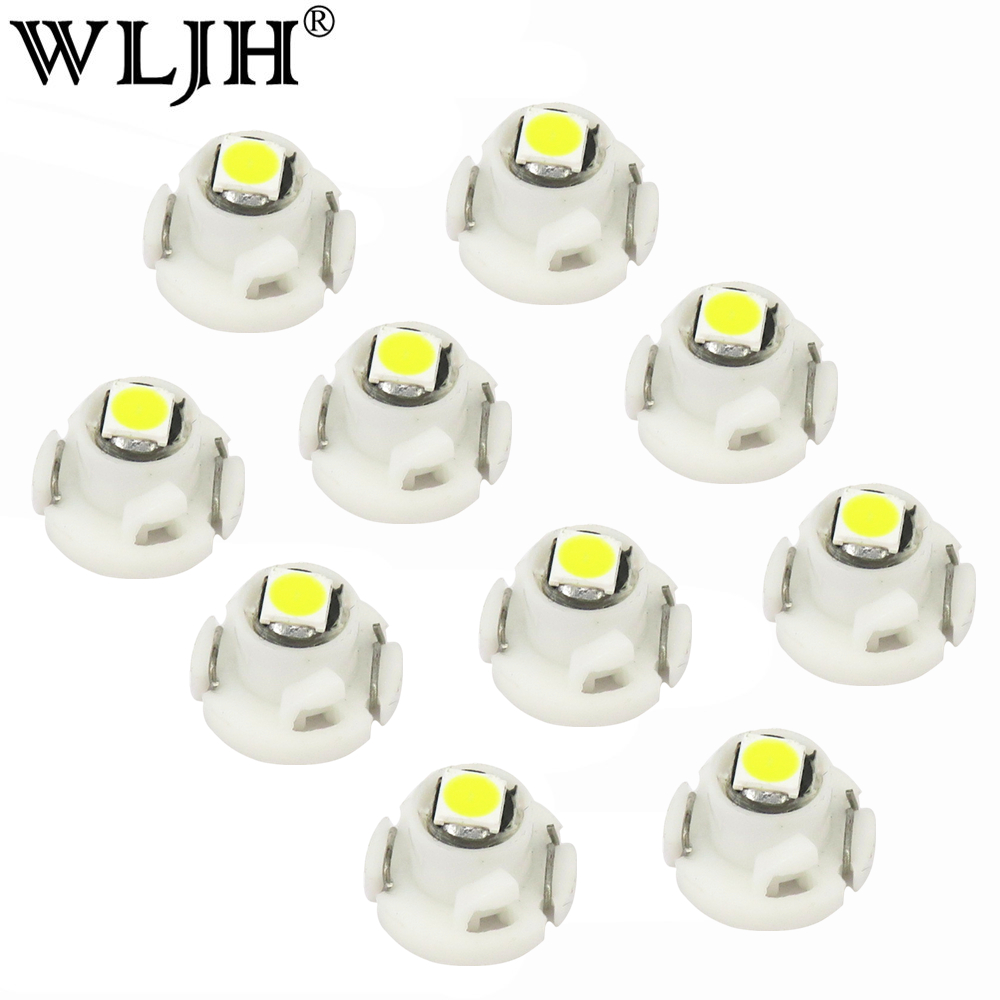 lampada de painel de controle wljh 10x neo cunha led 3030 smd painel de instrumento luz