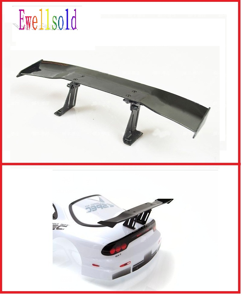 Ewellsold 1/10 RC car accessories/parts 1/10 RC drift car wing series /Spoiler plastic free shipping