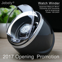 Jebely New Arrival 2 Colors Black Watch Winder For Automatic Watches Automatic Single Watches Box Jewelry