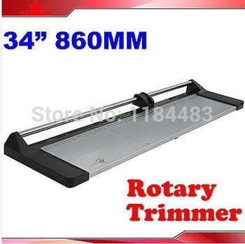 """Brand New 34"""" 860mm Manual Rotary Photo Paper Cutter Portable Trimmer +1 Blade"""