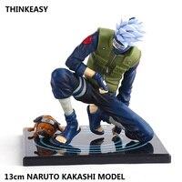 Naruto Action Figure Dolls Anime Naruto Kakashi Figure PVC Toys Model Decoration Collection Gift Toys For Children