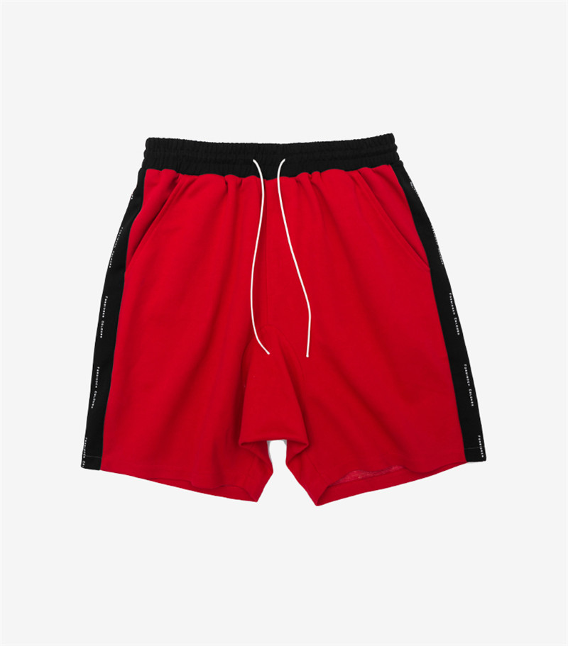 Men Casual Side Stripe 5 Colors Drawstring Shorts 2018 New Arrival Skateboard Boy Rap Hip Hop Casual Men Track Shorts