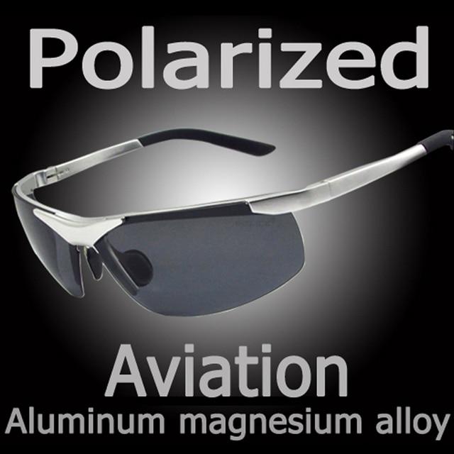 Nova Polaroid Óculos De Sol Dos Homens Polarizados Condução Óculos de Sol  Dos Homens Óculos De 3e28396fd0