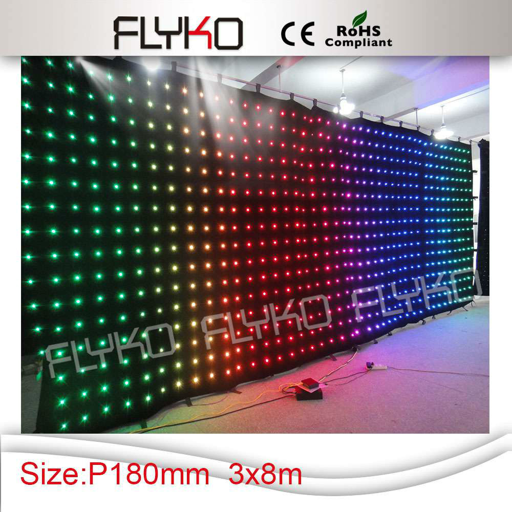 Led curtain concert - Hot Sales Indoor Used Stages For Concerts Led Stage Curtain