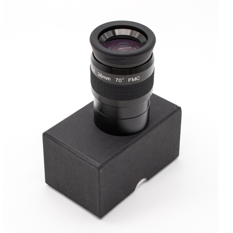 2.0 Inch Super Wide Angle 70 Degree 26mm Telescope Eyepieces for Astronomical Telescope 5 Elements Fully Coated High-index Glass swa 1 25inch 15mm super wide angle 70 degree eyepieces for astronomical telescope five elements fully coated high index glass