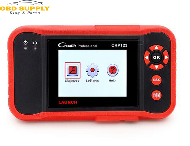 Best Offers LAUNCH professtional Creader CRP123 OBD2 Code Reader Scan tool 3.5' TFT LCD dIsplay X431 CRP123 diagnostic Scan tool free update