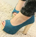 Hot Selling Gold Bottom Peep Toe High Heel Fashion Shoes Women Shoes Spring 2013 Platform Pumps Ladies Shoes Shipping