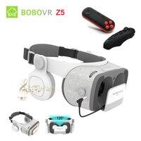BOBOVR Z4 Update BOBO VR Z5 120 FOV 3D Cardboard Helmet Virtual Reality Glasses Headset Stereo