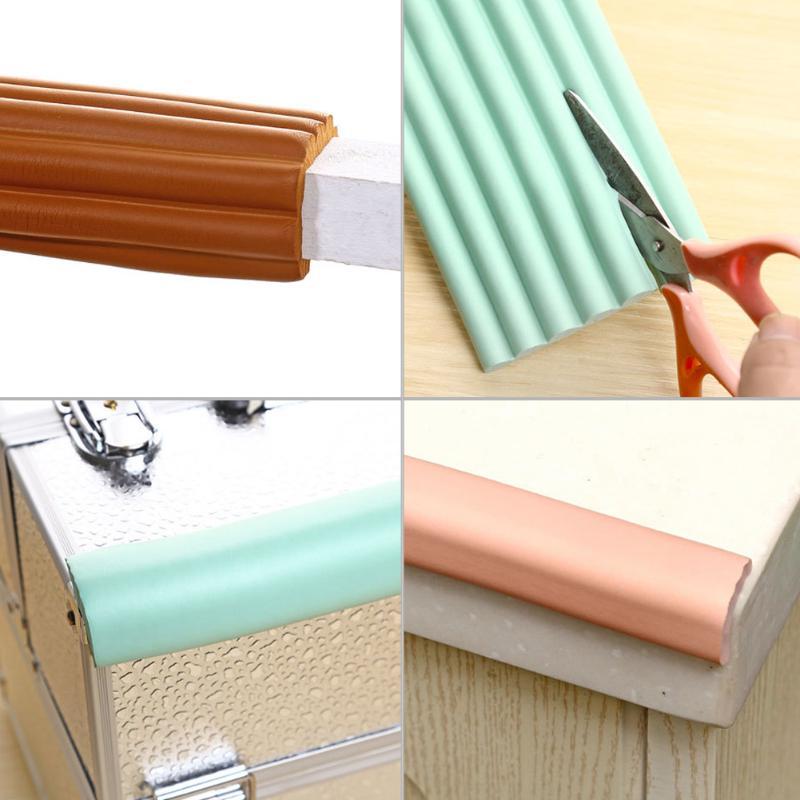 Baby Kid Safety Table Desk Edge Corner Cushion Guard Strip Soft Bumper Protector