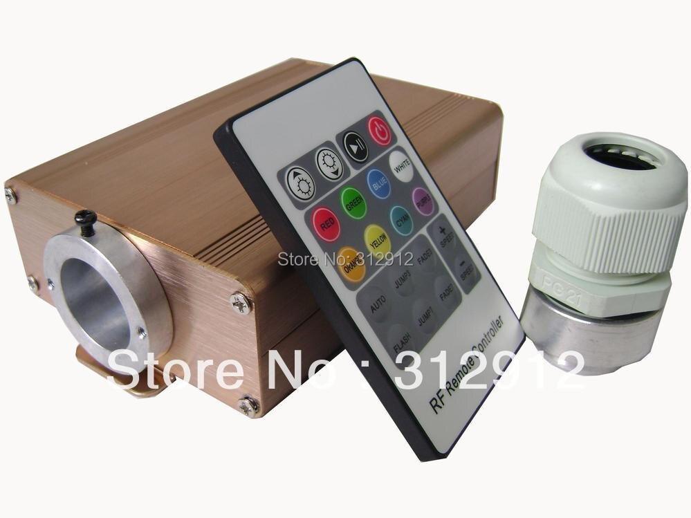 ФОТО 8w LED RGB fiber optic illuminator,with 220key RF remote controller;AC100-240V input