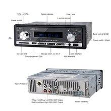 Автомагнитола usb Bluetooth V2.0 автомобильный стерео аудио в-тире fm-приемник Aux вход приемник usb MP3 MMC WMA авто радио
