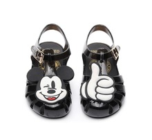 Mini Melissa Mickey Minnie Rome Girls Jelly Sandals 2019 Lovely Kids Child Water Shoes High Quality
