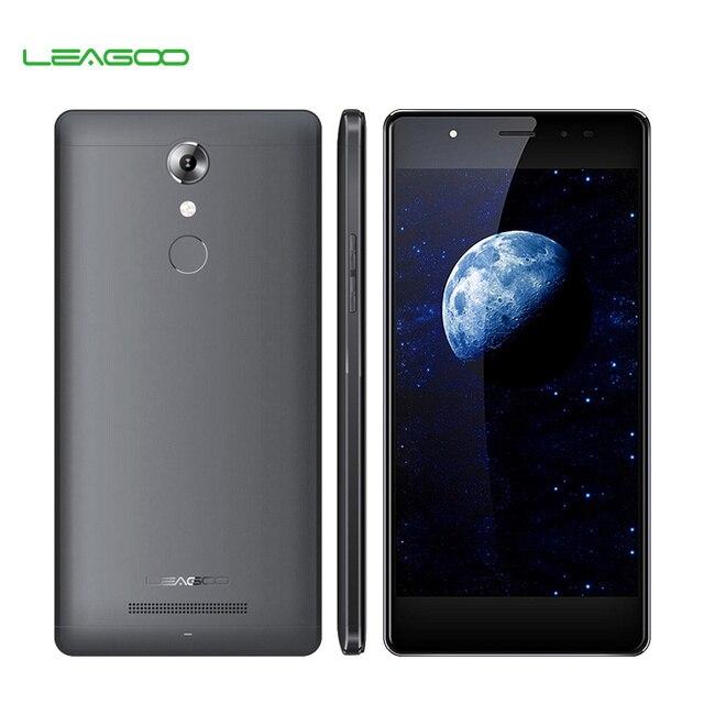 смартфон LEAGOO T1, Android 6.0, четырехядерный процессор MT6737, 5,0-дюймовый экран, разрешение 1280*720 пикселей, ОЗУ 2 Гб, постоянная память 16 Гб, мобильный телефон 4G LTE с отпечатком пальца 13 мегапикселей