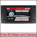 7 inch CapacitiveCar DVD GPS Stereo Sat Navi Headunit For VW TOUAREG T5 MULTIVAN With RDS Radio Bluetooth Ipod rearview SWC
