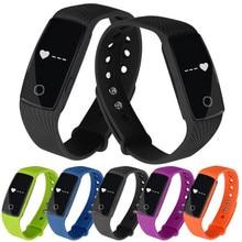 Популярные! Bluetooth Умные часы heartrate браслет синхронизации телефона Коврики для IOS Android Бесплатная доставка XP15M05