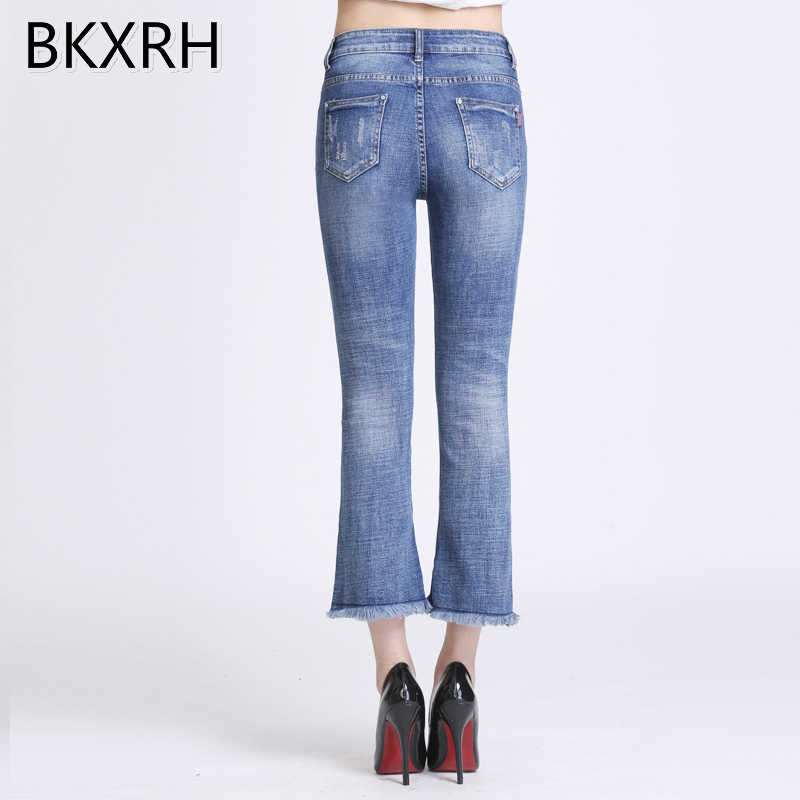 Jeans Fusées Élastique Brodé Pantalon Plus Fleurs Femmes Taille 3d Lady  Denim Maigre Broderie Bkxrhq6 Bkxrh ... a1b41d22b427