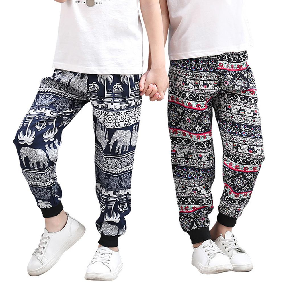 Boys Girls Summer Soft Smooth Cloth Casual Loose Pants in Pants from Mother Kids
