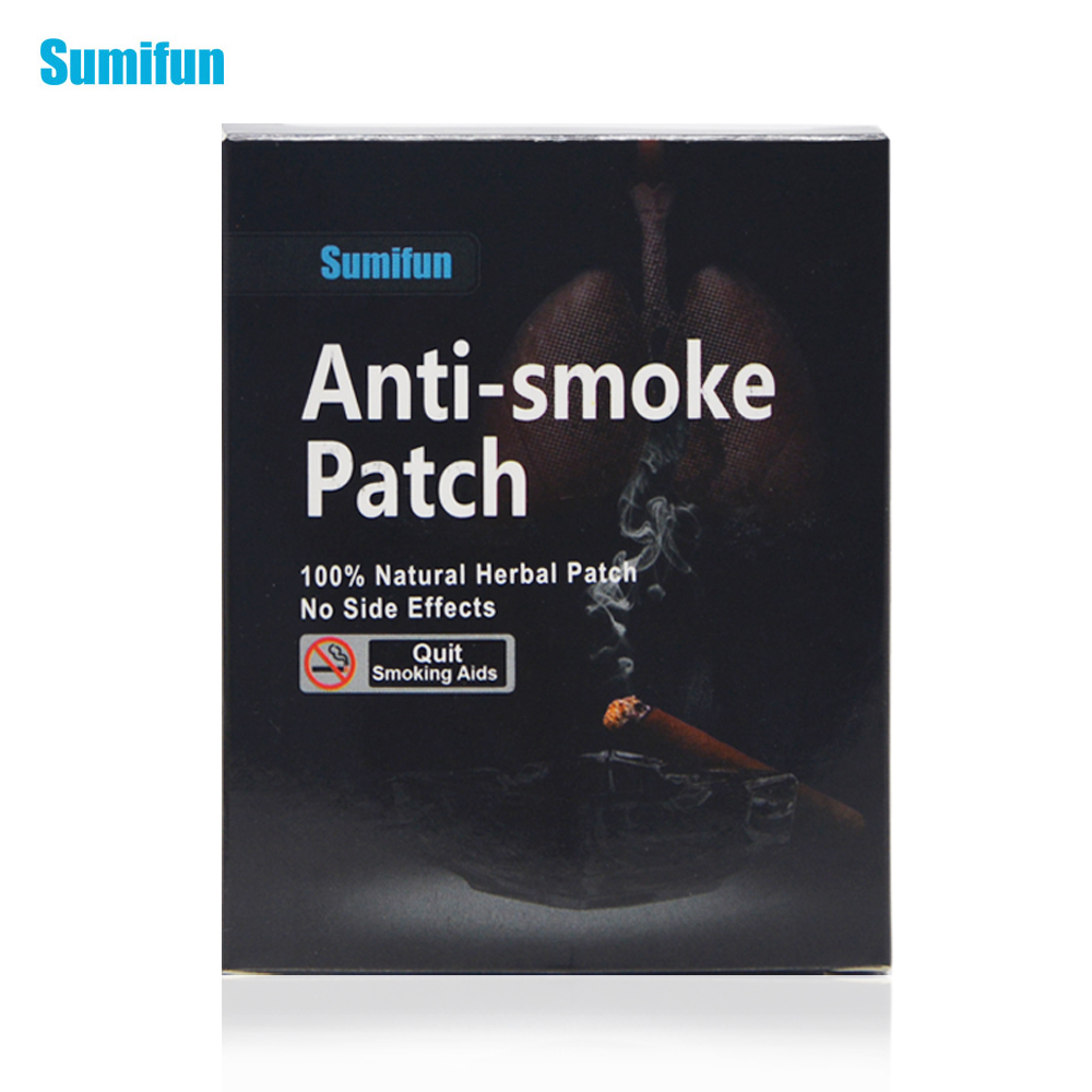 35 Patches Sumifun Quit Smoking Anti Smoke Patch for Smoking Cessation Patch 100% Natural Ingredient  Stop Smoking Patch K01201