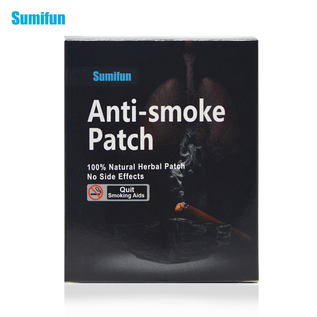 35pcs//lot anti smoke stop smoking patch for smoking cessation.