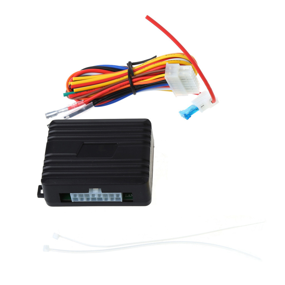 Car Alarm Universal Auto Window Power Roll Up Closer Module For 4 Doors DC12V|Intelligent Window Closer| |  - title=