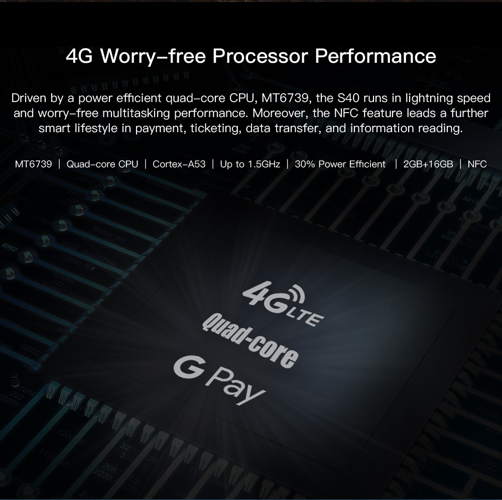 HTB1QyISL4naK1RjSZFtq6zC2VXaf DOOGEE S40 4GNetwork Rugged Mobile Phone 5.5inch Display 4650mAh MT6739 Quad Core 3GB RAM 32GB ROM Android 9.0 8.0MP IP68/IP69K