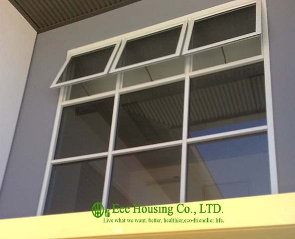 Aluminium Awning & Fixed Window Manufacturer In China / Top-hung Casement Window With Outward Opening