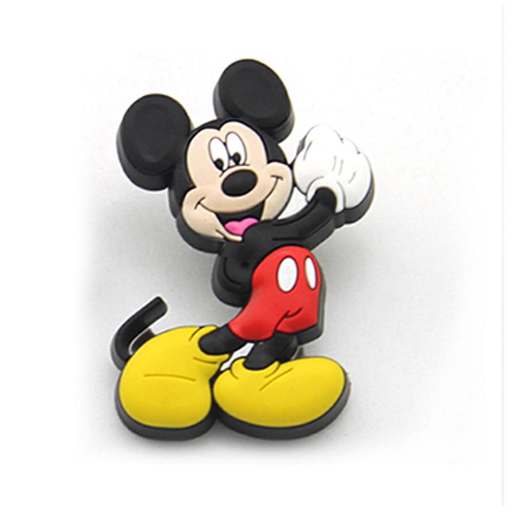 Soft Mickey Mouse Drawer Knobs Nursery Decor girl boys Handle