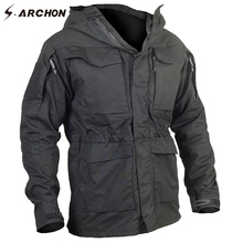 S.ARCHON M65 Waterproof Military Pilot Jackets Men Windbreaker Camouflage Tactical