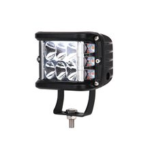 "Drop shipping ECAHAYAKU Dually 4"" LED Work Light Side Shooter 60W Cubic Yellow Flashing For Trucks Tractor SUV ATV Boat Forklift(China)"