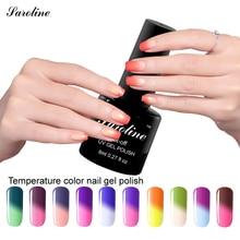 Saroline brand Temperature Color Changing Nail Soak-off UV Nail Gel Polish Lacquer esmaltes permanentes de uv